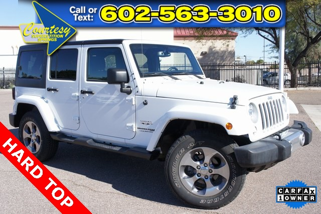 Certified Pre Owned 2018 Jeep Wrangler Jk Unlimited Sahara 4d Sport Utility In Mesa E0104 Courtesy Jeep Of Superstition Springs