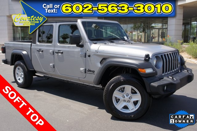 Certified Pre-Owned 2020 Jeep Gladiator Sport