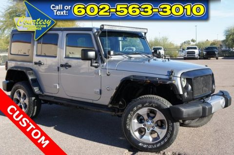 Certified Pre-Owned 2015 Jeep Wrangler Unlimited Freedom Edition
